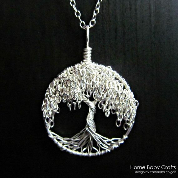 Willowtreependants etsylisting102061284willow willow tree of life necklace solid sterling silver miniature tree necklace aloadofball Gallery