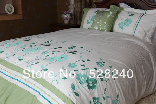 Cheap Bed Sheet Sets Sale, Buy Quality Bed Sheet Sets On Sale Directly From  China Bed Sheet Painting Designs Suppliers: New Design Embroidery And  Applique ...