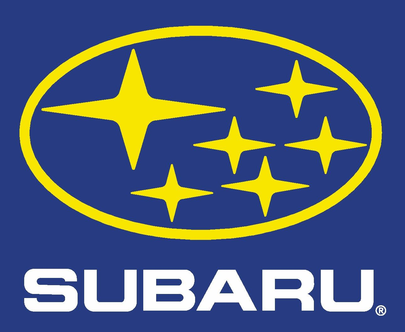 Car Brands Starting With F >> Did you know that the Subaru logo represents the Pleiades star cluster? That's also what the ...