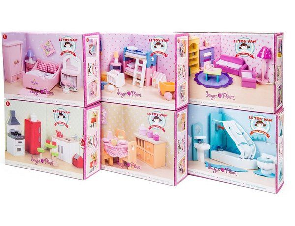 Exceptional Sugar Plum Dolls House Furniture Collection Set 6
