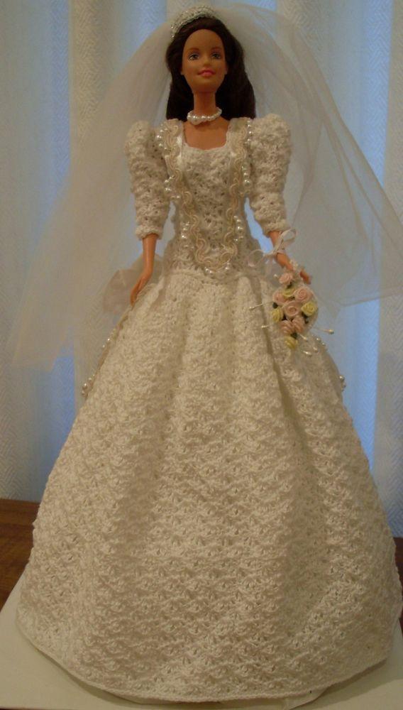 1986 DUCHESS WEDDING GOWN ( P017) #BARBIEDOLL