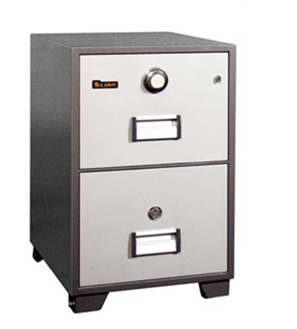2 Drawers Fire Resistant Filing Cabinets Filing Cabinet Elegant File Cabinet Media Storage Cabinet
