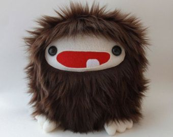 Baby Bigfoot Sasquatch Furry Monster Plush