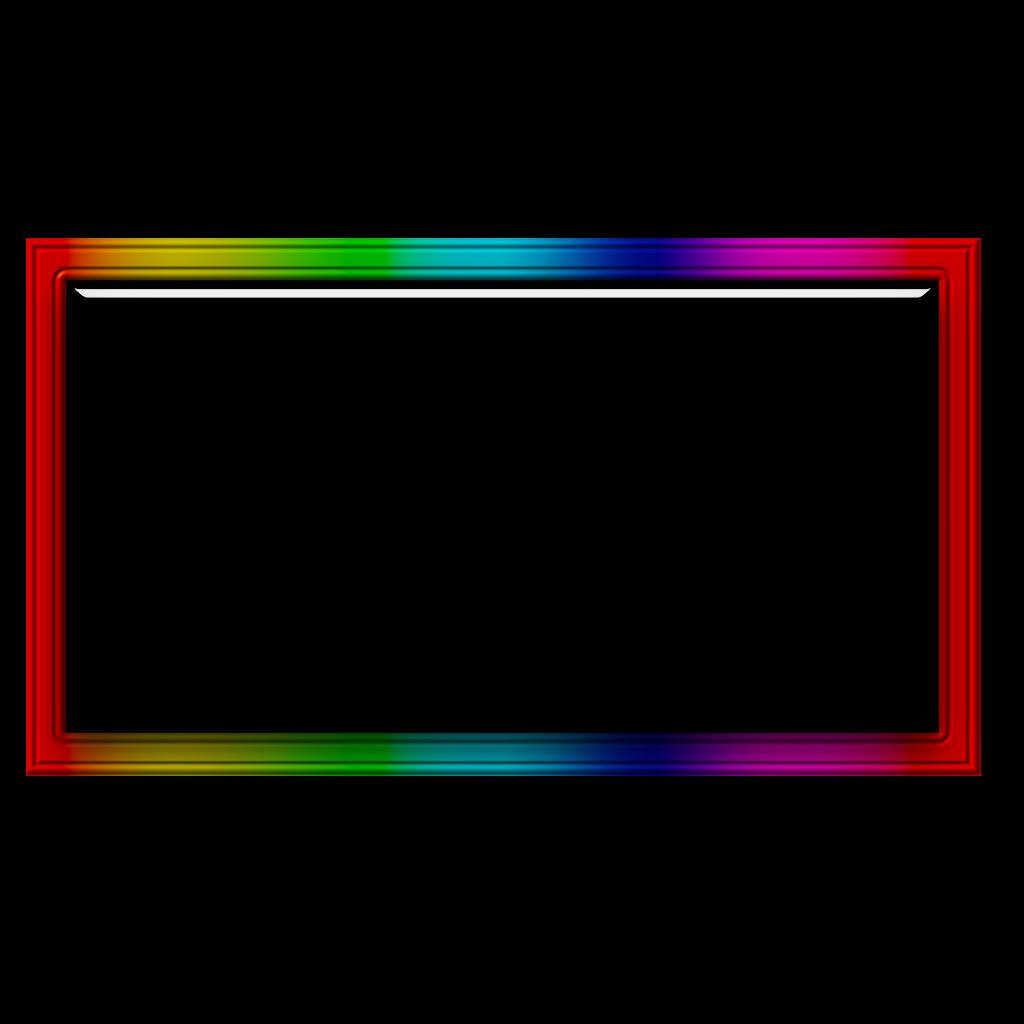 Neon Square Color Freetoedit Frame Border Geometric Geo Rainbow Stickers Frame Rainbow Glass