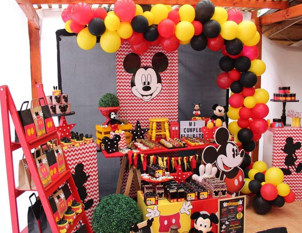 Mickey Mouse Party Decor Wild Country Fine Arts