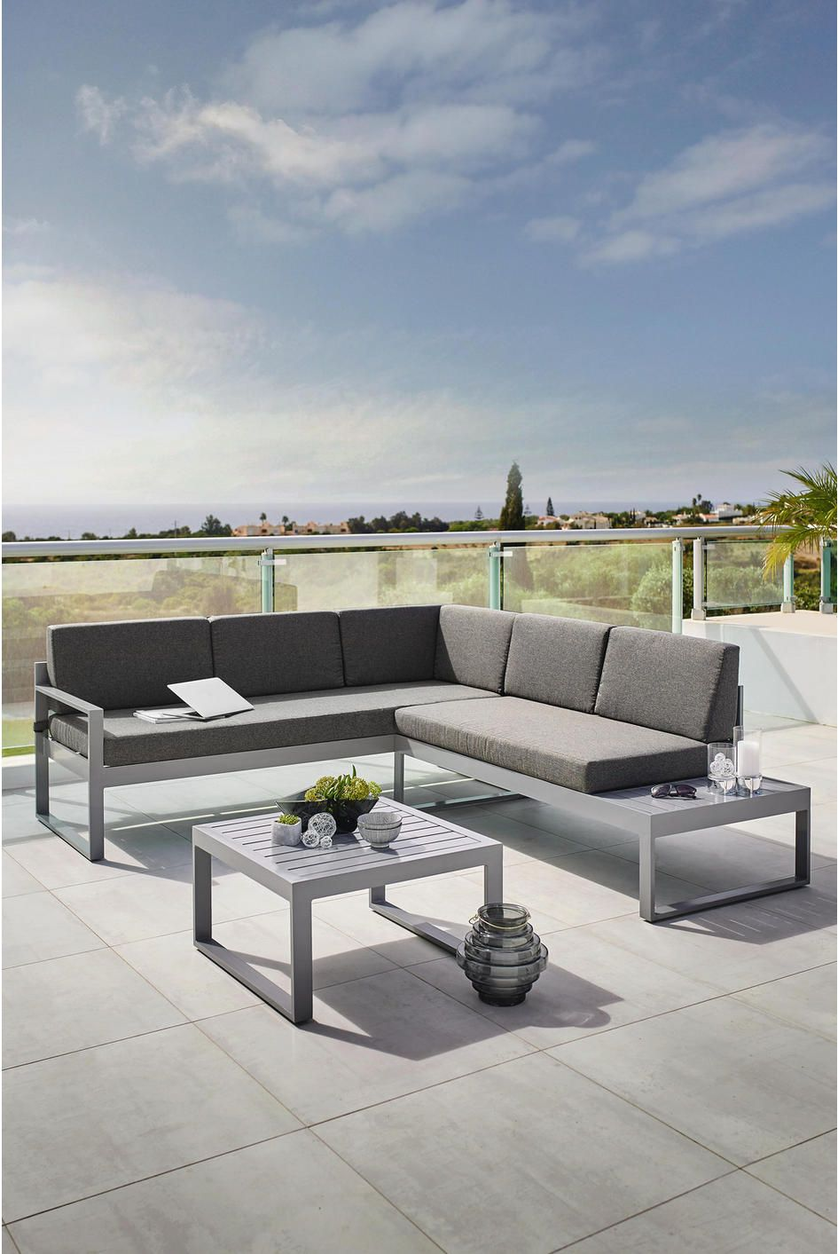LOUNGEGARNITUR 192/219 cm | Outdoor dekorationen, Lounge ...