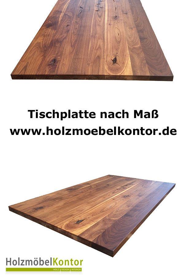 Tischplatte nach Maß ✓ gibt es im holzmoebelkontorde - esstische aus massivholz ideen