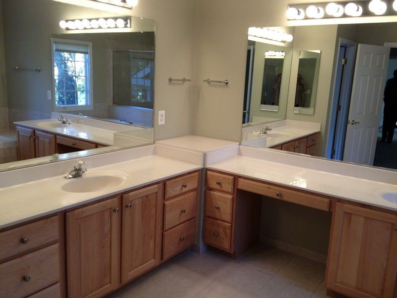 Image result for L shaped bathroom vanity ideas : l shaped bathroom cabinets - Cheerinfomania.Com