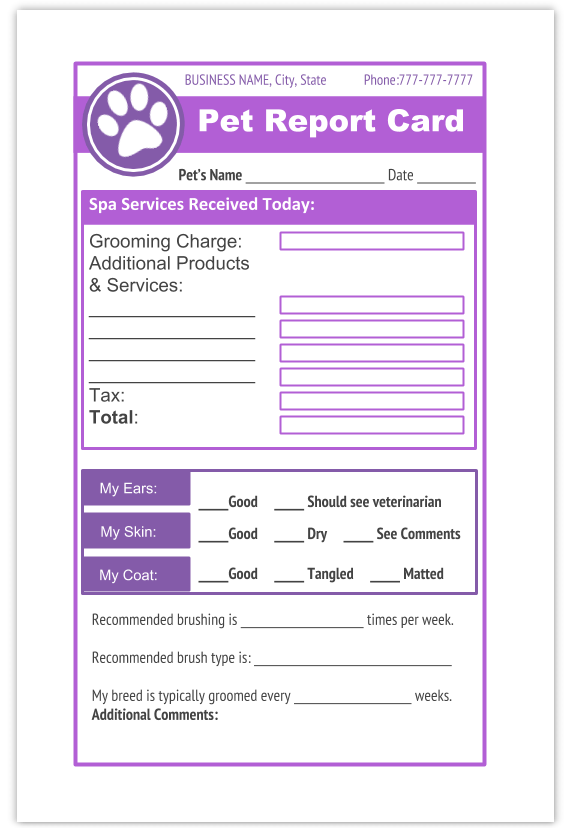 Dog Grooming Receipt Templates Printable Pdf Dog Grooming Dog Grooming Business Dog Grooming Salons