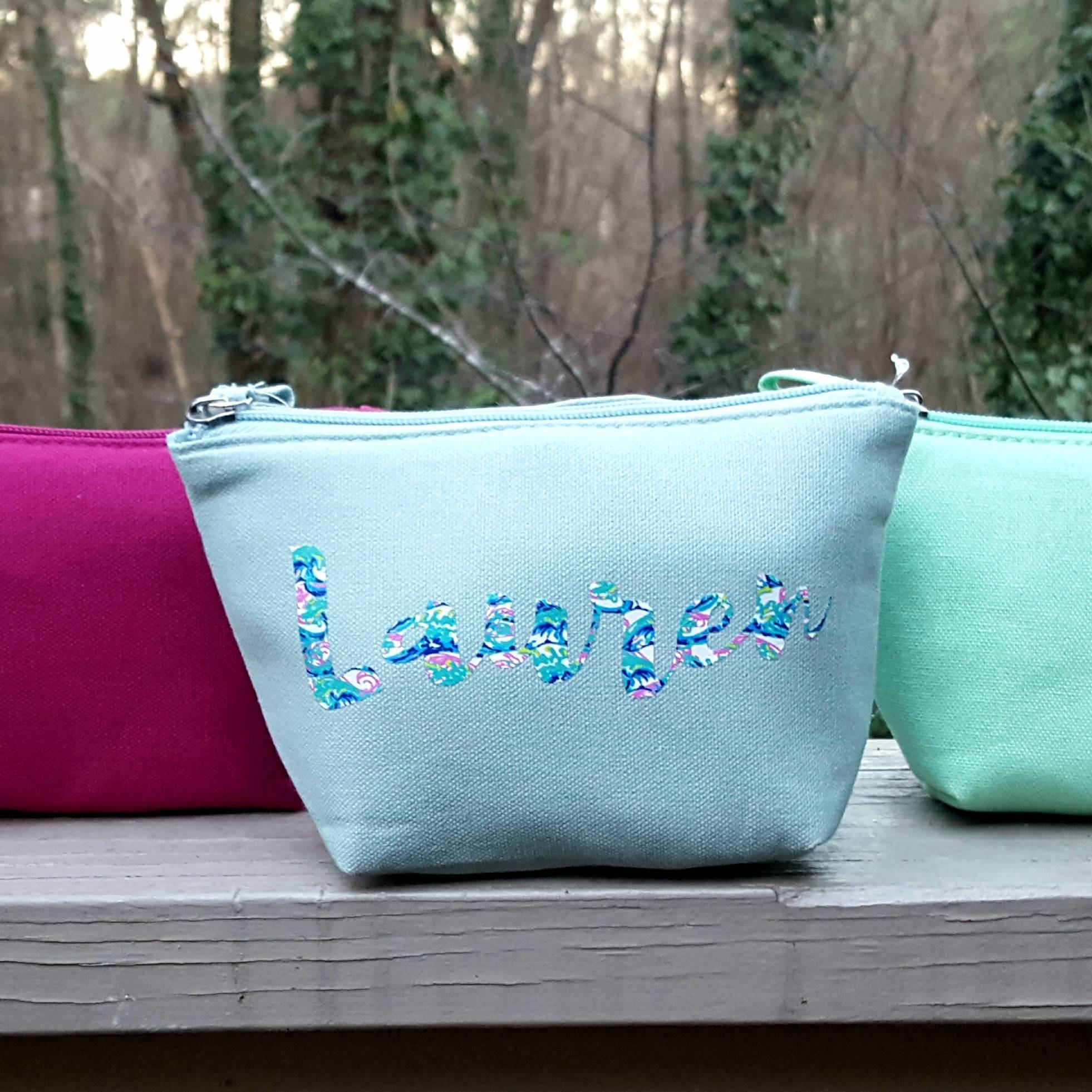 Bride Cosmetic Bag Cosmetic bag, Etsy coupon, Customized