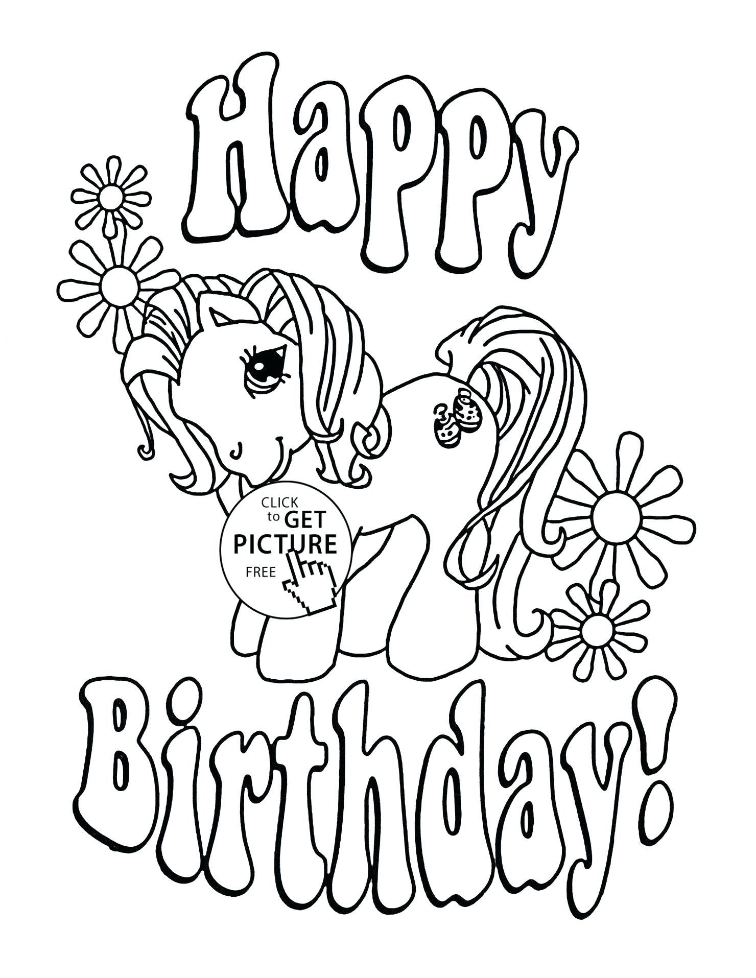 The Marvellous Coloring Pages Top Wonderful Happy Birthday Mom Coloring For Mom Coloring Birthday Cards Happy Birthday Coloring Pages Unicorn Coloring Pages