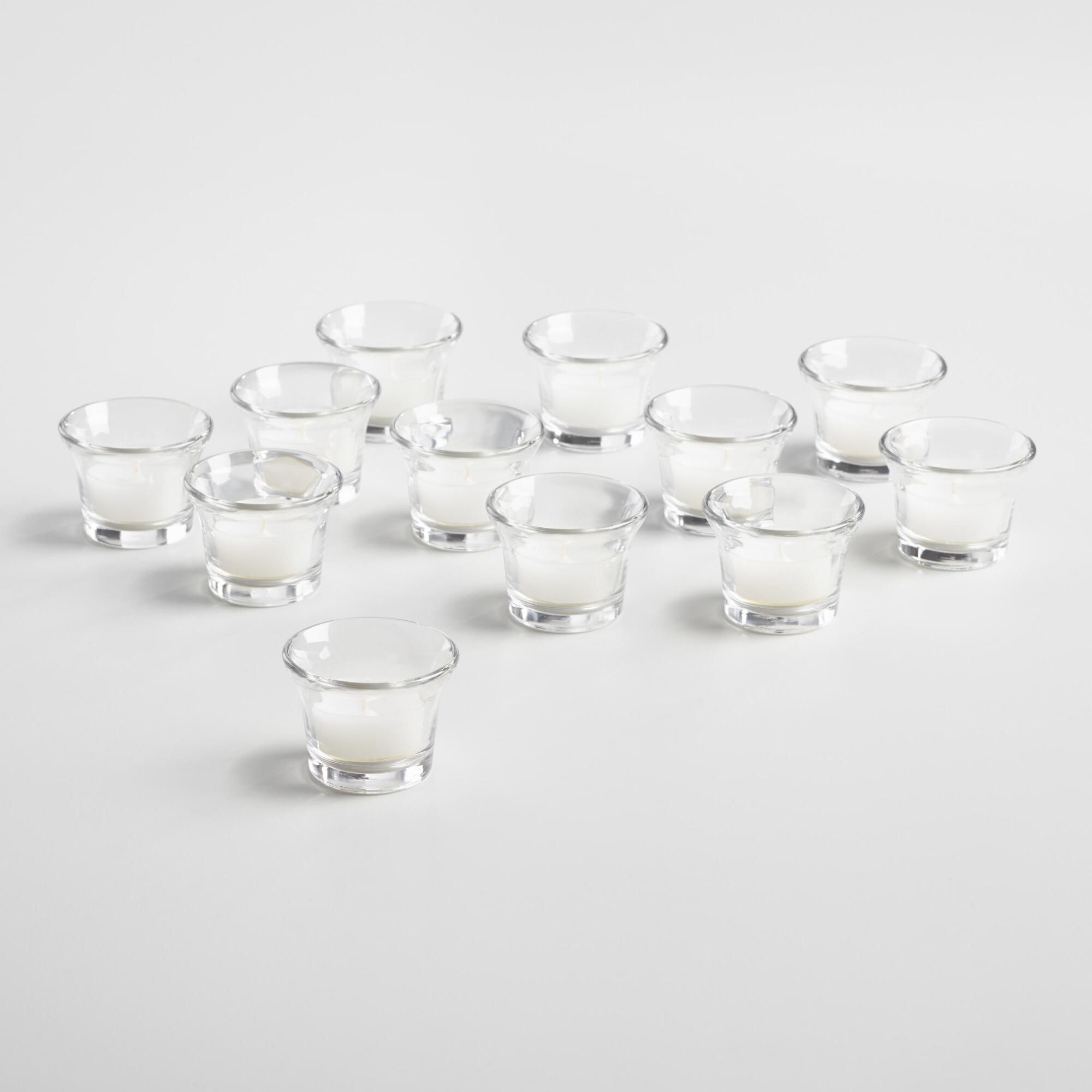 Cocktail tealight candle holders set of glass by world market