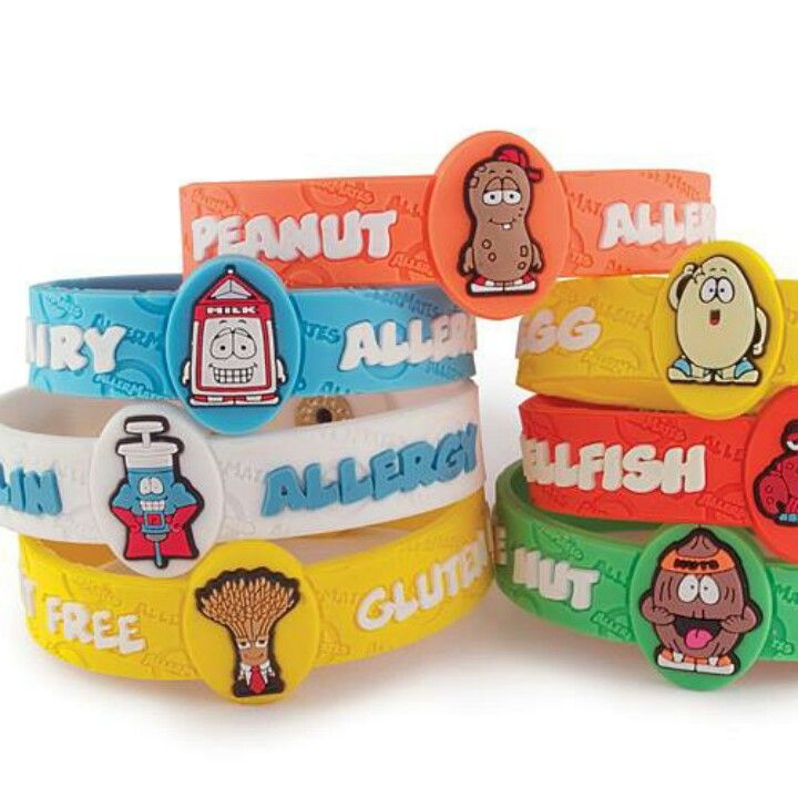 Allergy Bracelets For Kids Cool With Images Kids