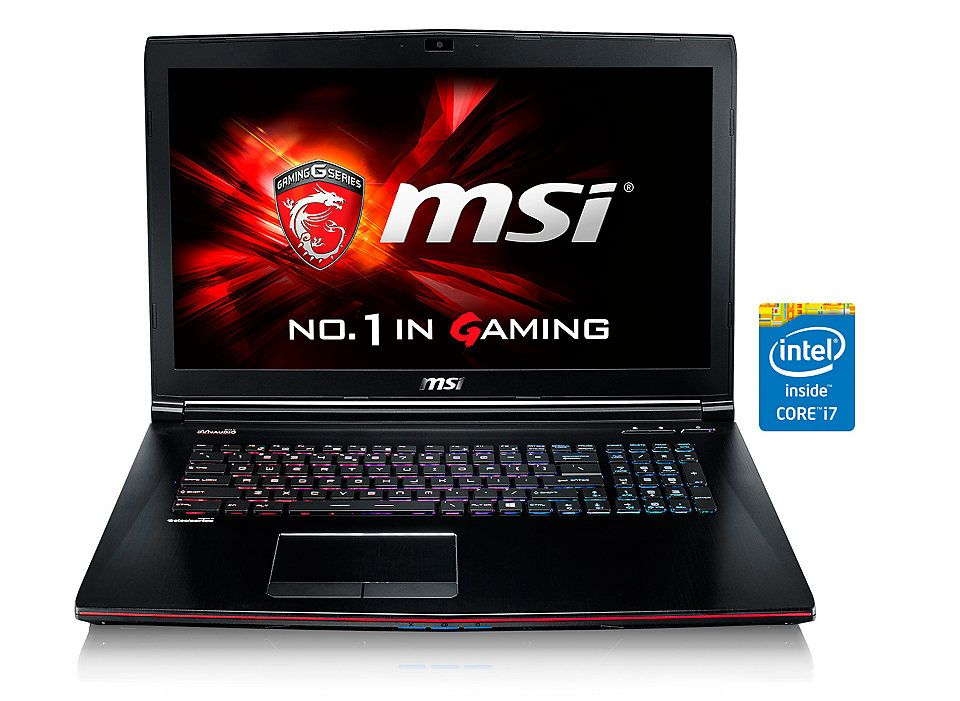 "MSI 17,3"", Intel® i7-5700HQ, 16GB, 128GB SSD+1TB, GTX960M »GE72-2QDi716H11 (001792-SKU1001)«"