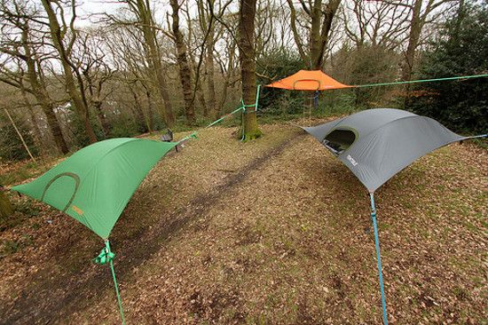 Tentsile tree tent hammocks combine the comfort of a hammock with the safety of a tent. Find the best c&ing hammock tents for sale online from Tentsile. & The Future of Camping: weird tent designs #outdoor #camping | My ...