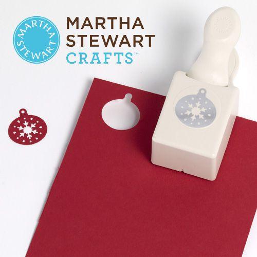 Perforatrice boule de noel de Martha Stewart   Perforatrice