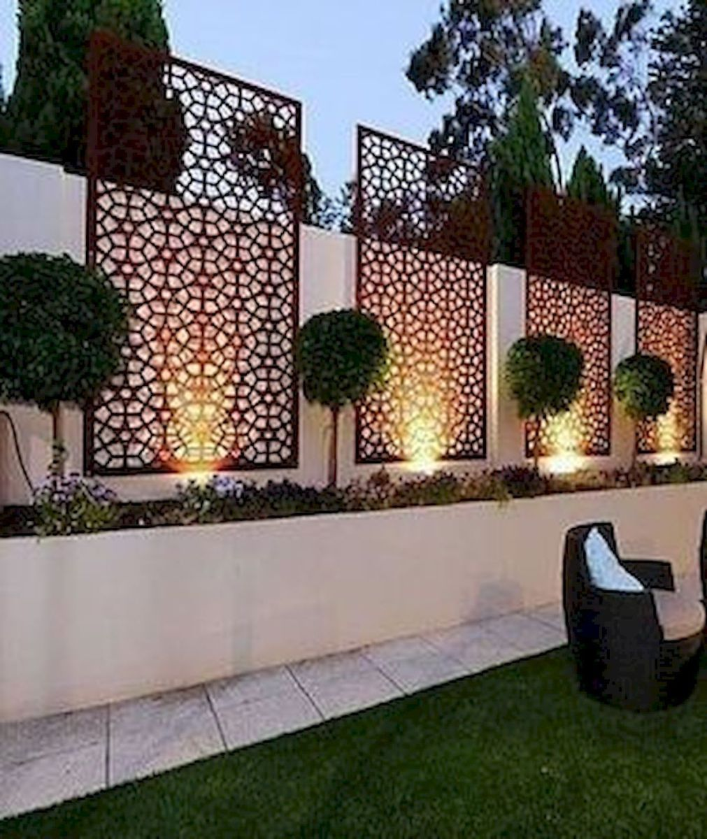 54 The Best Fence Design Ideas That You Can Try Garden And Outdoor Backyard Fences Backyard Landscaping Designs Backyard