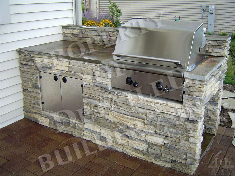 Built In Barbecue Grills Outdoorkitchendesigns