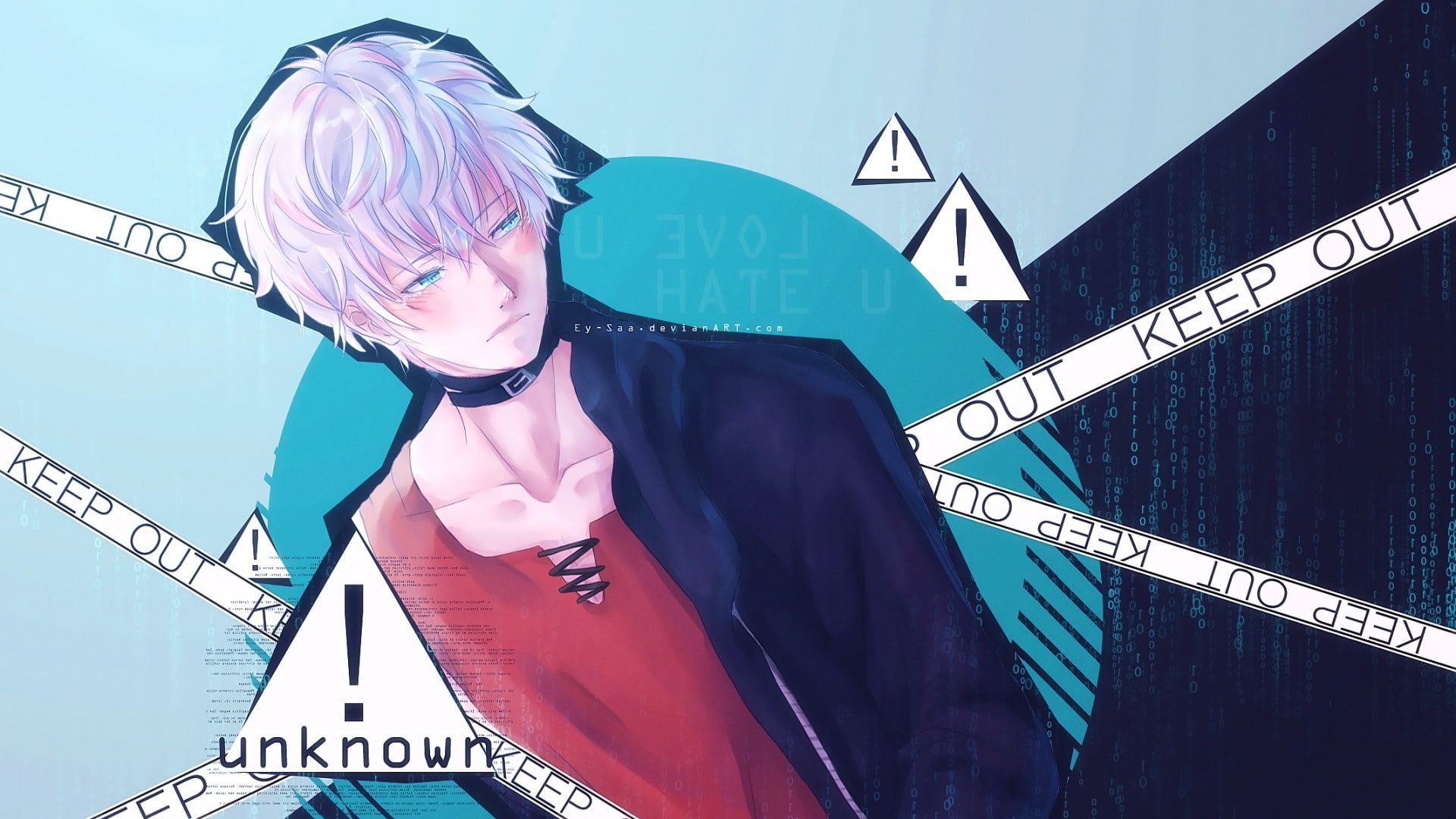 Anime Mystic Messenger Saeran Choi Unknown Mystic Messenger 1080p Wallpaper Hdwallpaper Desktop In 2020 Mystic Messenger Mystic Messenger 707 Saeran