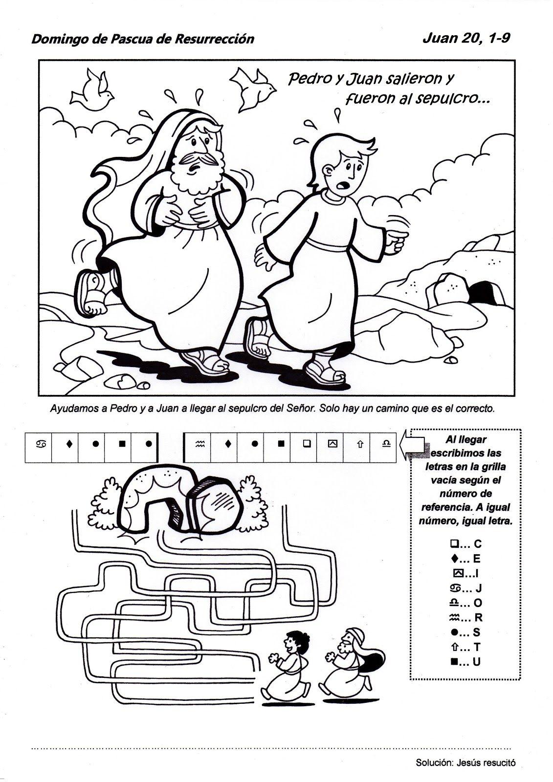 SGBlogosfera. Amigos de Jesús: DOMINGO DE PASCUA | Actividades de ...