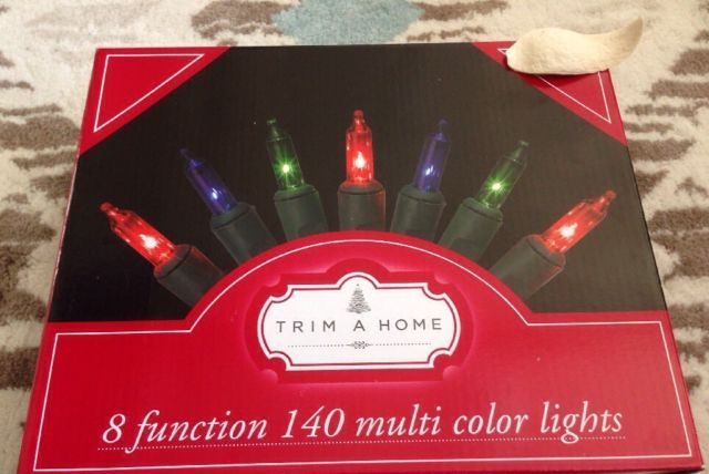 Trim A Home 140ct 8 Functions Incandescent Chasing Light Set Multi Color Ebay