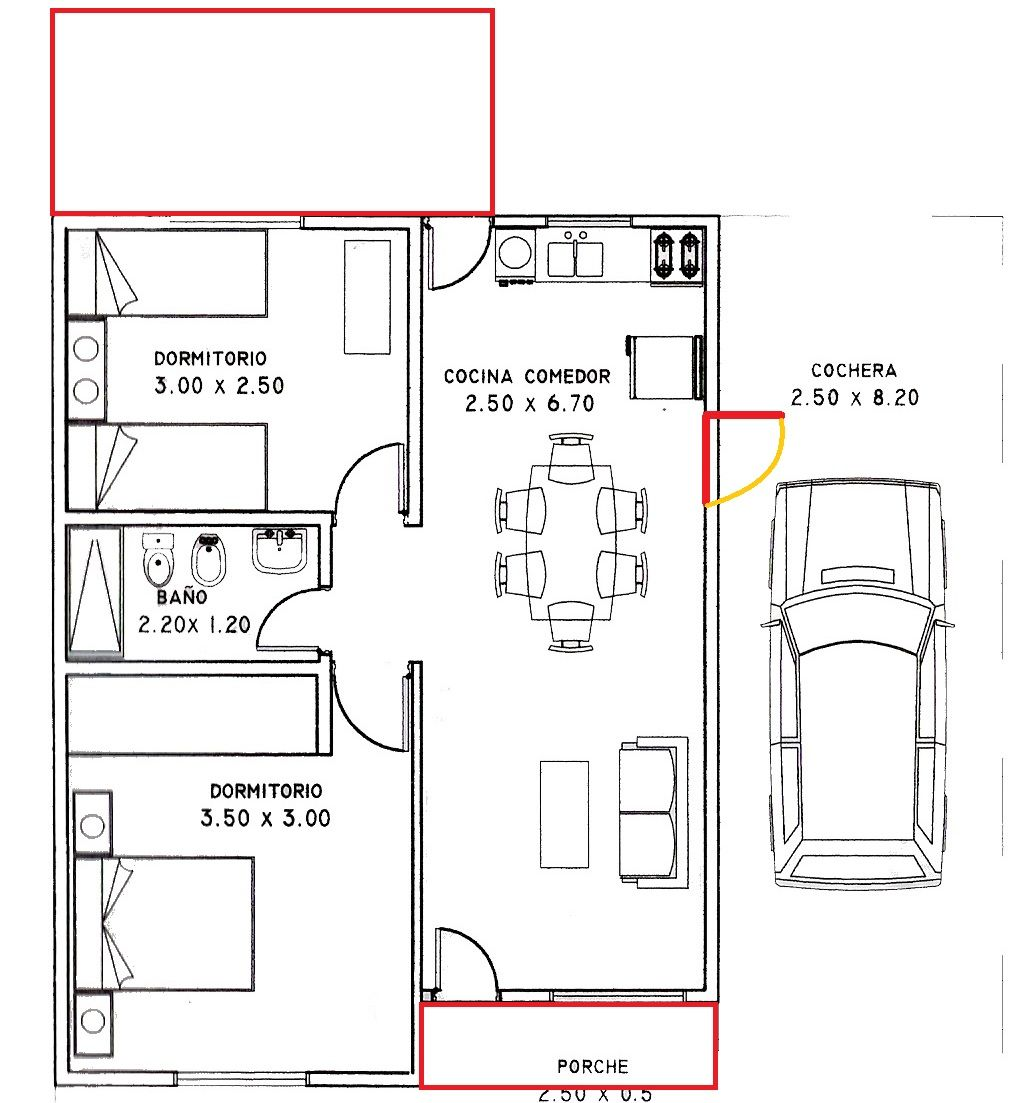 Casa de 80 metros cuadrados rigo planos pinterest - Metro cuadrado decoracion ...