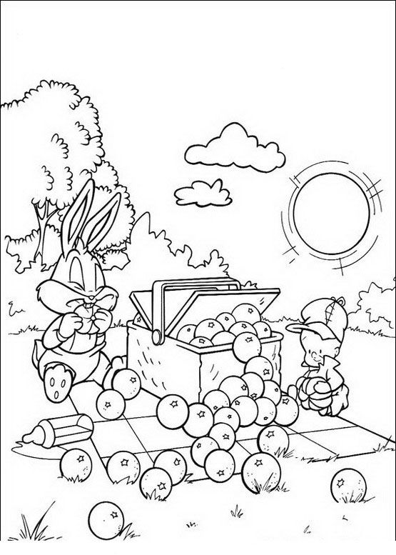 Baby Looney Tunes Coloring Pages 45