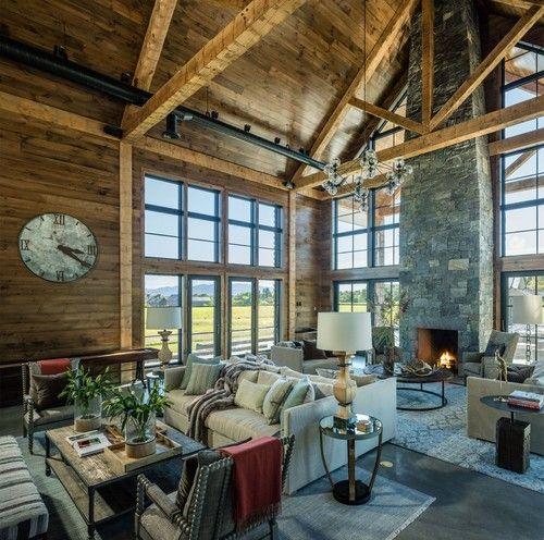Cornwall farmhouse TruexCullins Architecture Interior Design