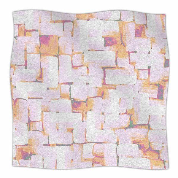 Cobble by Rachel Watson Fleece Blanket