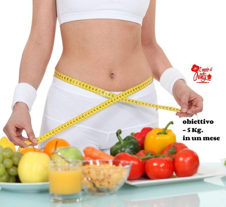 come perdere 25 chili in un mese