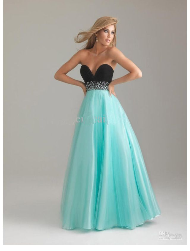 Beautiful Tiffany Blue Prom Dress | Prom | Pinterest | Long prom ...
