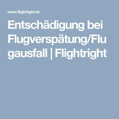 Entschädigung bei Flugverspätung/Flugausfall | Flightright