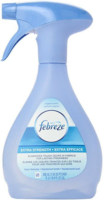 Febreze Air Freshener, Extra Strength Fabric Refresher Air Freshener,  16.9 Ounce