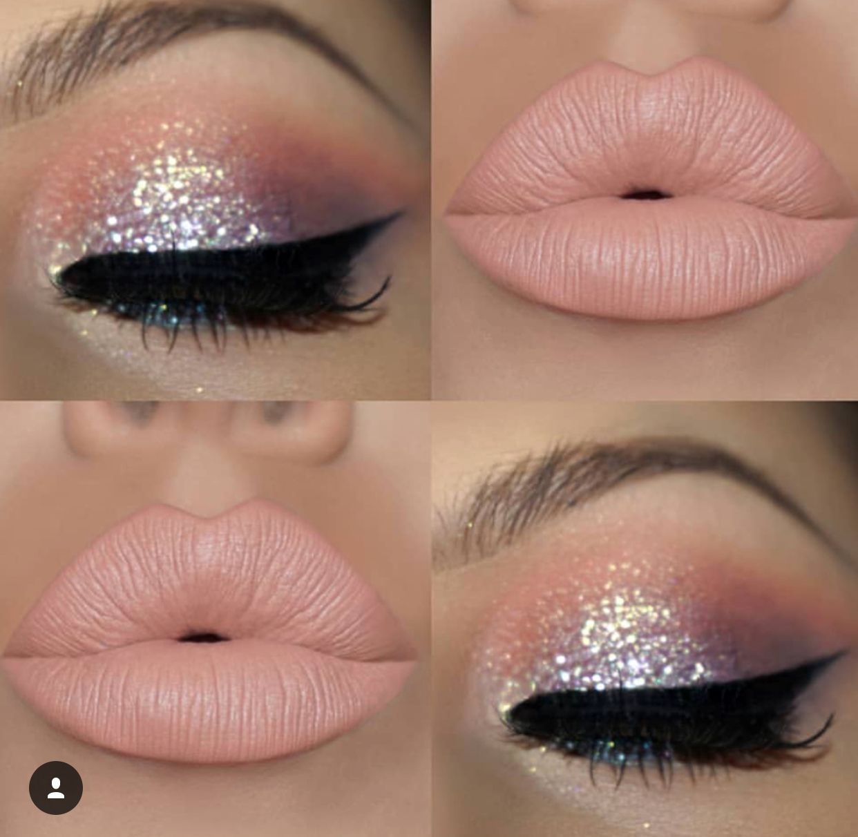 Yes. Light pinks and sparkles. Birthday makeup looks