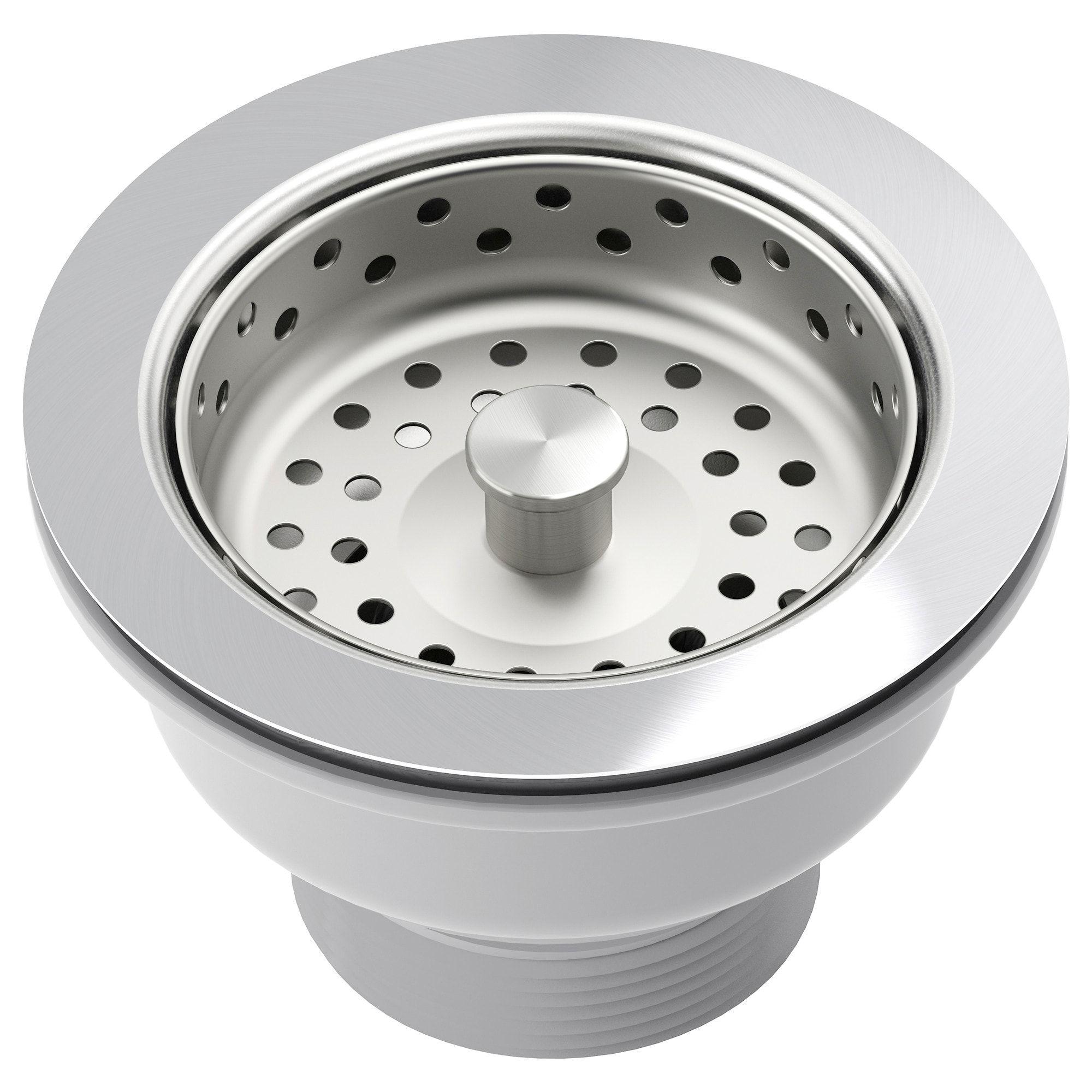 Download Wallpaper White Kitchen Sink Strainer