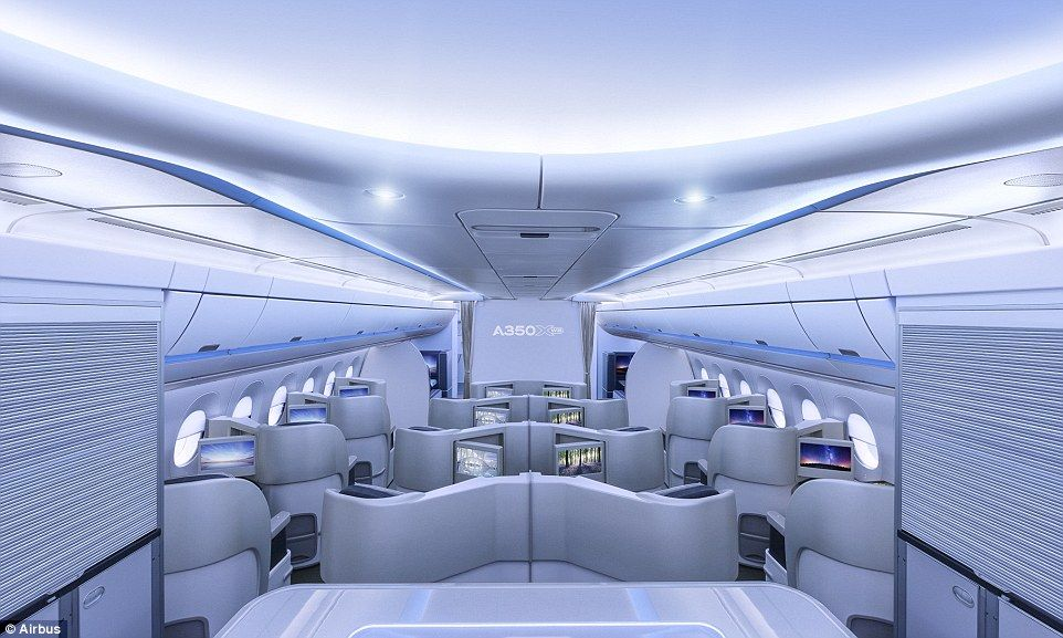 Airbus unveils cabin interior for new A330neo planes