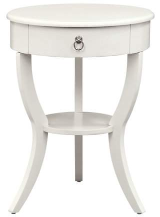 Home End Tables White Side Tables Round Side Table