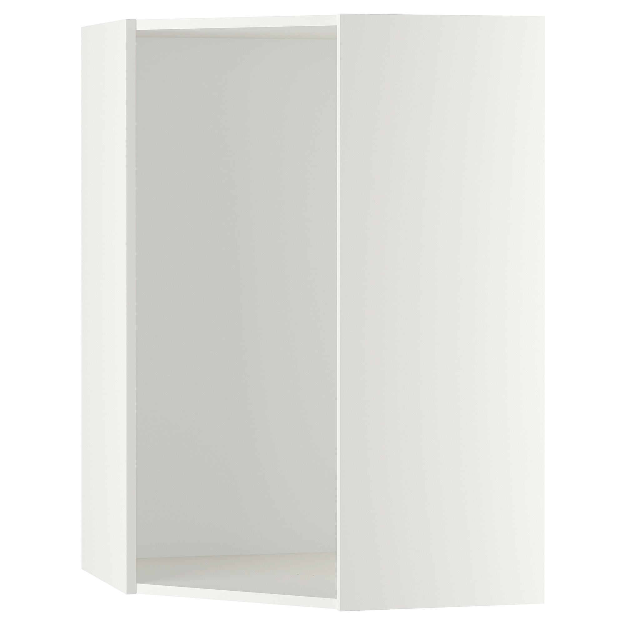 Metod Corner Wall Cabinet With Shelves White Ringhult Light Grey 68x100 Cm Corner Wall Ikea Corner Base Cabinet