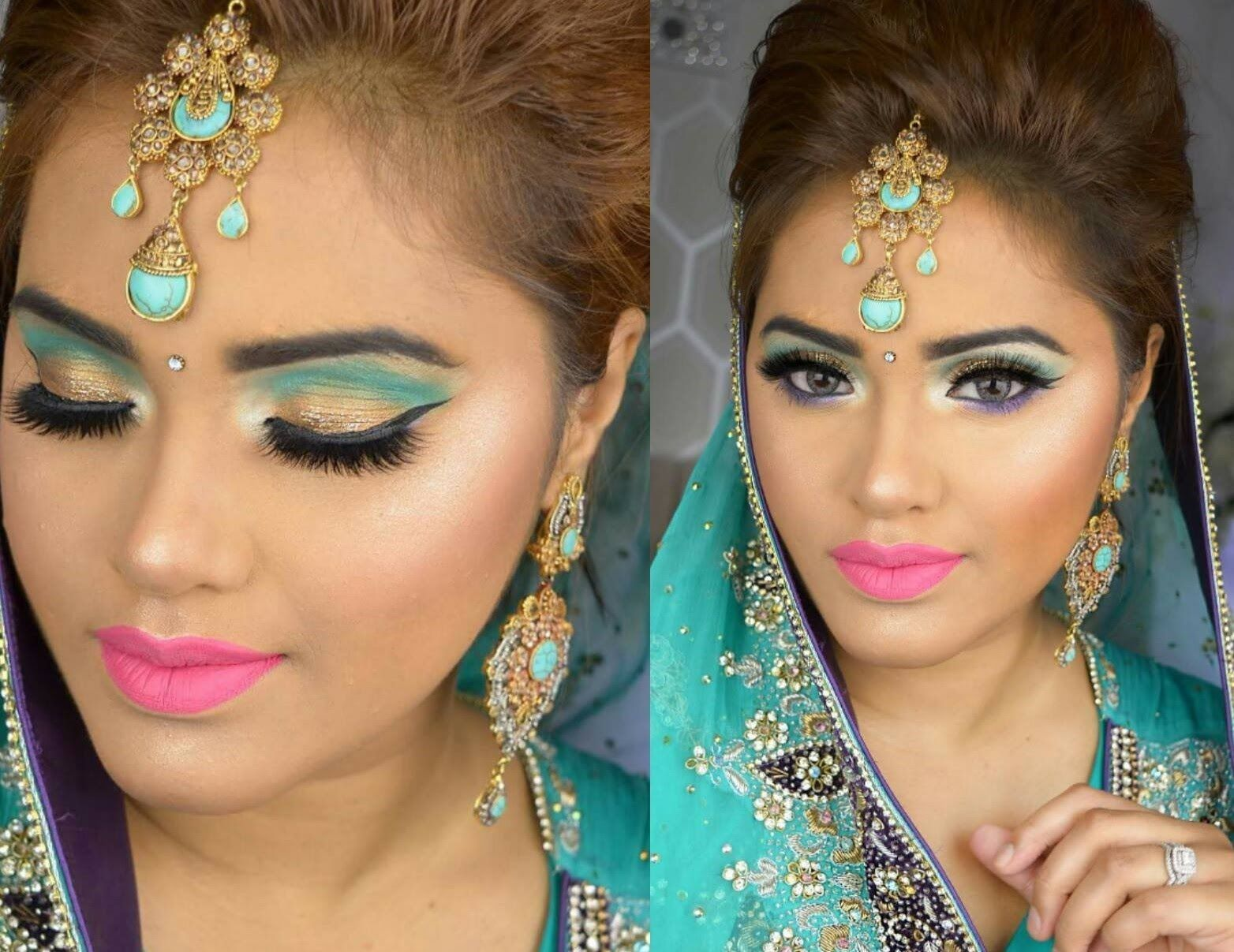 BRIDAL MAKEUP LOOK