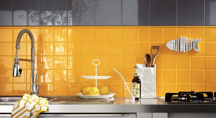 Piastrella per rivestimento cucina serie unitech - Piastrella 7 5x15 bianche ...