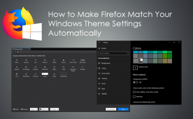 How to Make Firefox Match Your Windows Theme Settings