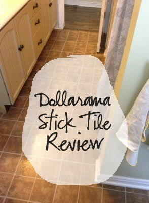 Dollarama Stick Tile Review Stick On Tiles Tiles