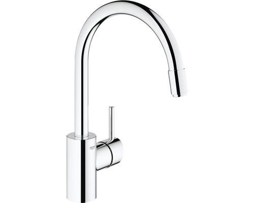 Mitigeur Monocommande Pour Evier Grohe Concetto Dn15 32663001 Faucet Chrome Sink