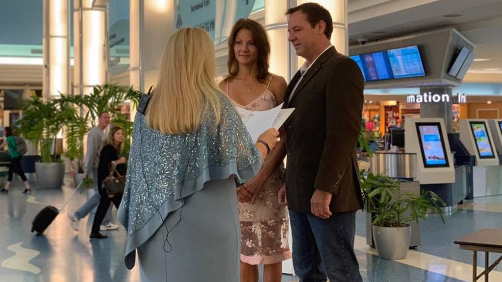 FOX NEWS: Hurricane Michael forces Florida couple to marry at airport