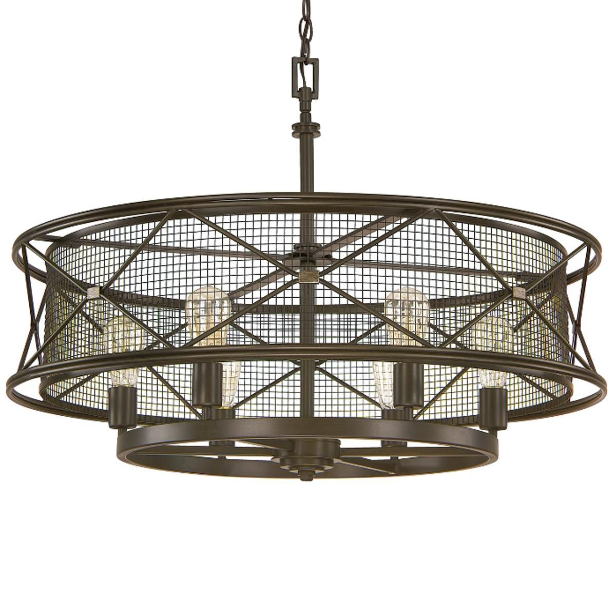 X cage urban chandelier 6 light chandeliers urban and lights x cage urban 6 light chandelier arubaitofo Images