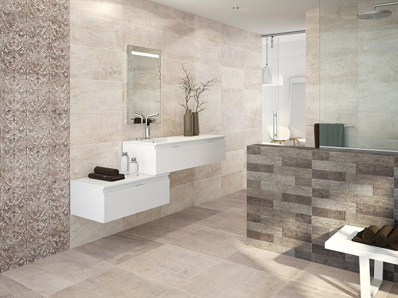 Mix And Match Tiles From The Vienna Range To Add Interest In Large