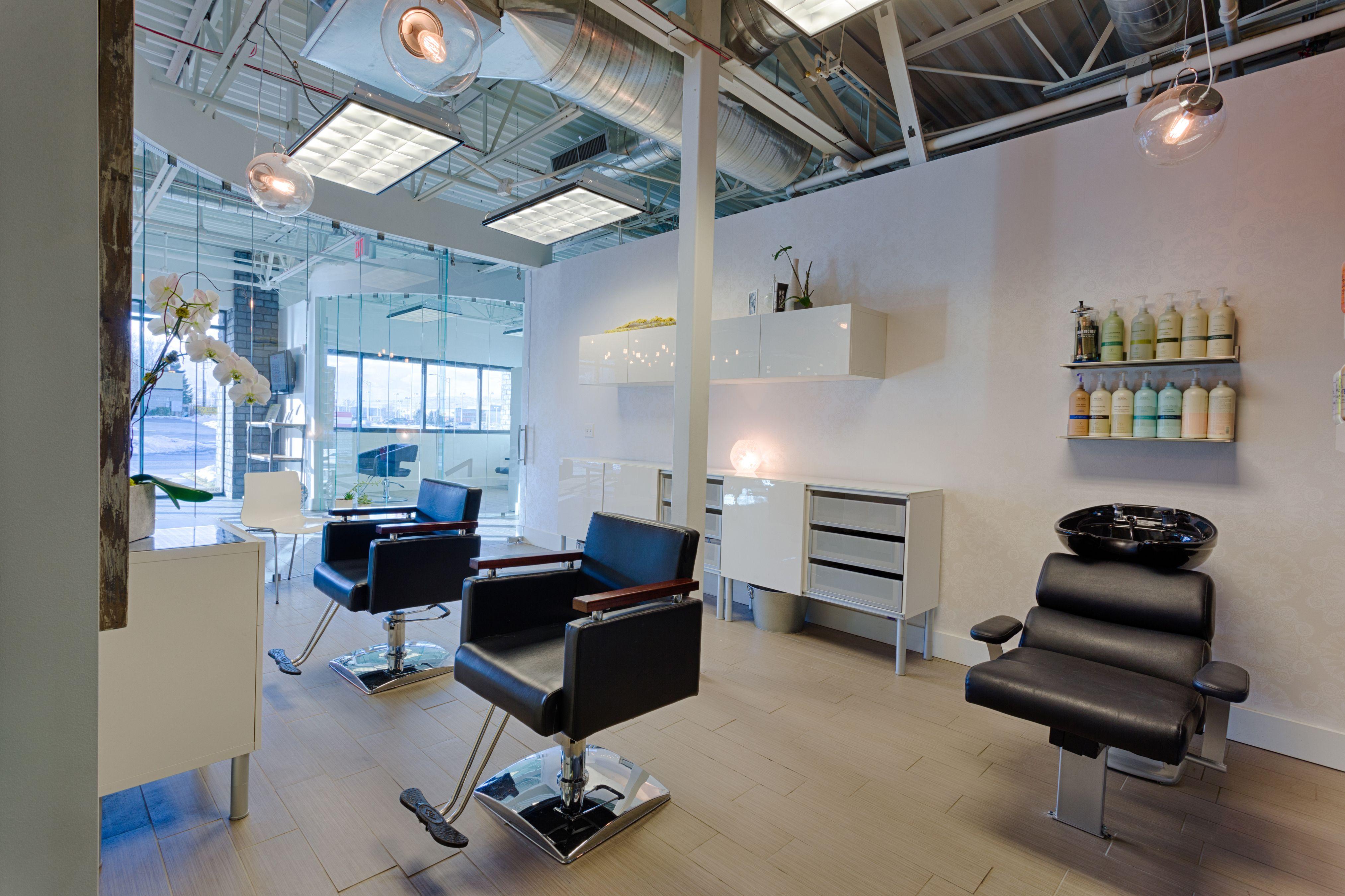 Great studio size...2 stations & 1 shampoo unit.......Image Studios Sandy, Utah Studio 117 #imagestudios