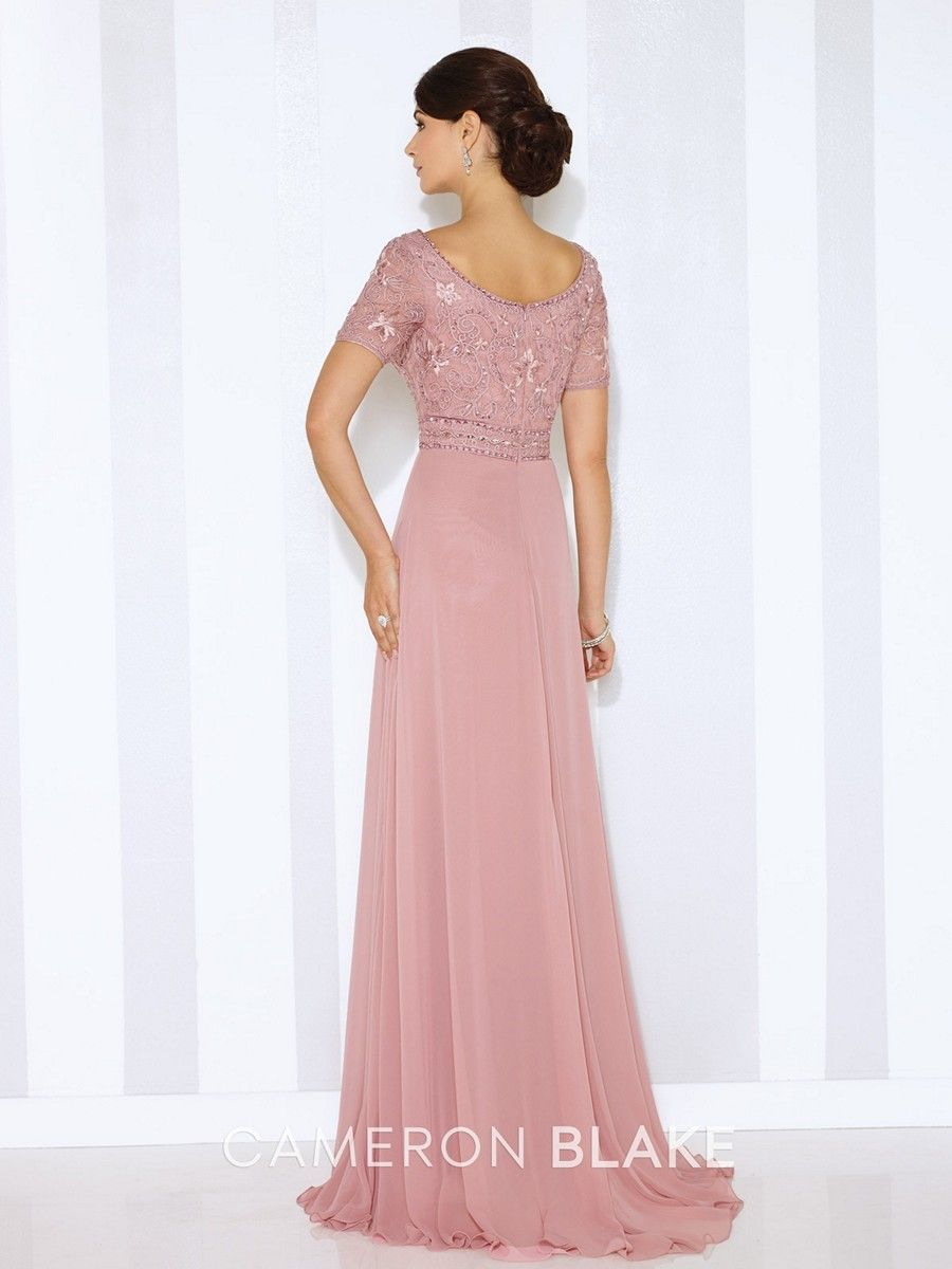 Cameron Blake by Mon Cheri 116666 MOB Dress Scoop Neckline | Pinterest