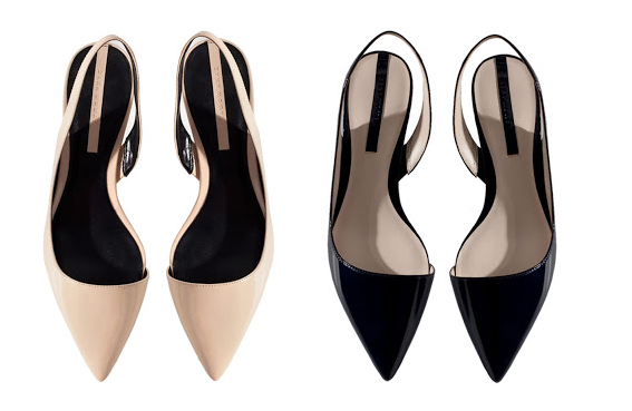 We can't get enough of slingbacks, whether they are black, navy or in nude. Discover more on The Wall at http://www.elin-kling.com/the-wall/the-catch-zara-slingbacks