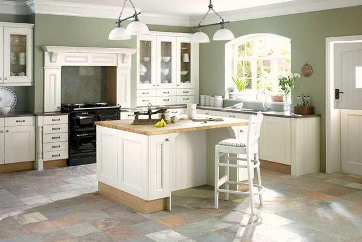 light green kitchen walls with white cabinets | Kitchen | Pinterest ...